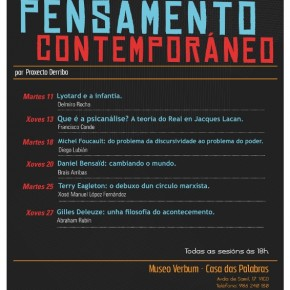 Novas Tendencias do Pensamento Contemporáneo 2011