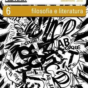 Derritaxes 6 · Filosofía e Literatura