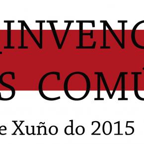 AVISO!! Re-invencións dos comúns: Prazo de matrícula só ate o 10 de xuño!!!
